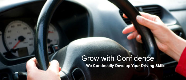 Learning to Drive - Grow with Confidence, we Continually Develop Your Driving Skills